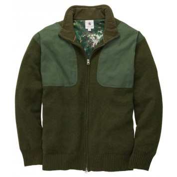 Shooting Sweater- Live Oak Green